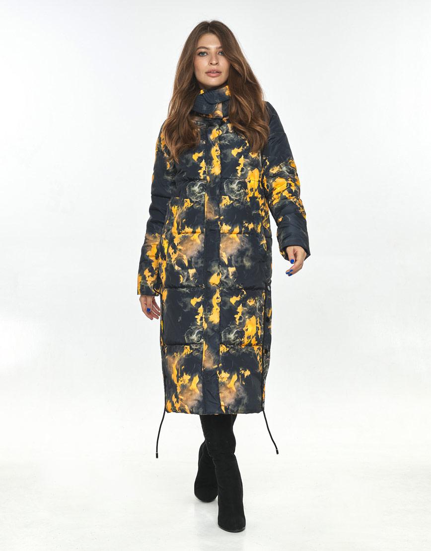 Куртка с рисунком зимняя женская Ajento 23160 фото 1