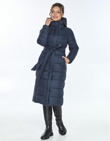 Куртка с манжетами женская Ajento синего цвета 21152 фото 1