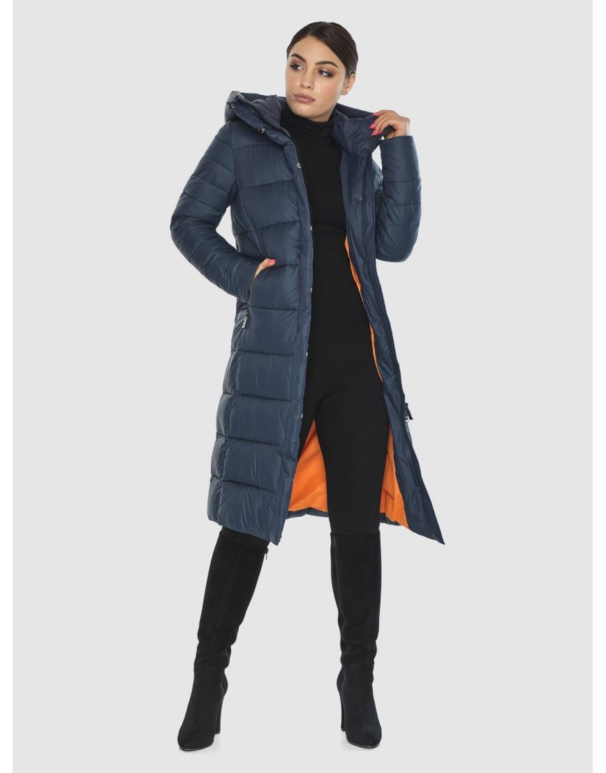 Женская комфортная куртка Wild Club цвет синий 538-74 фото 2