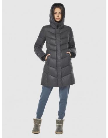 Фирменная куртка Vivacana серая женская 7821/21 фото 1