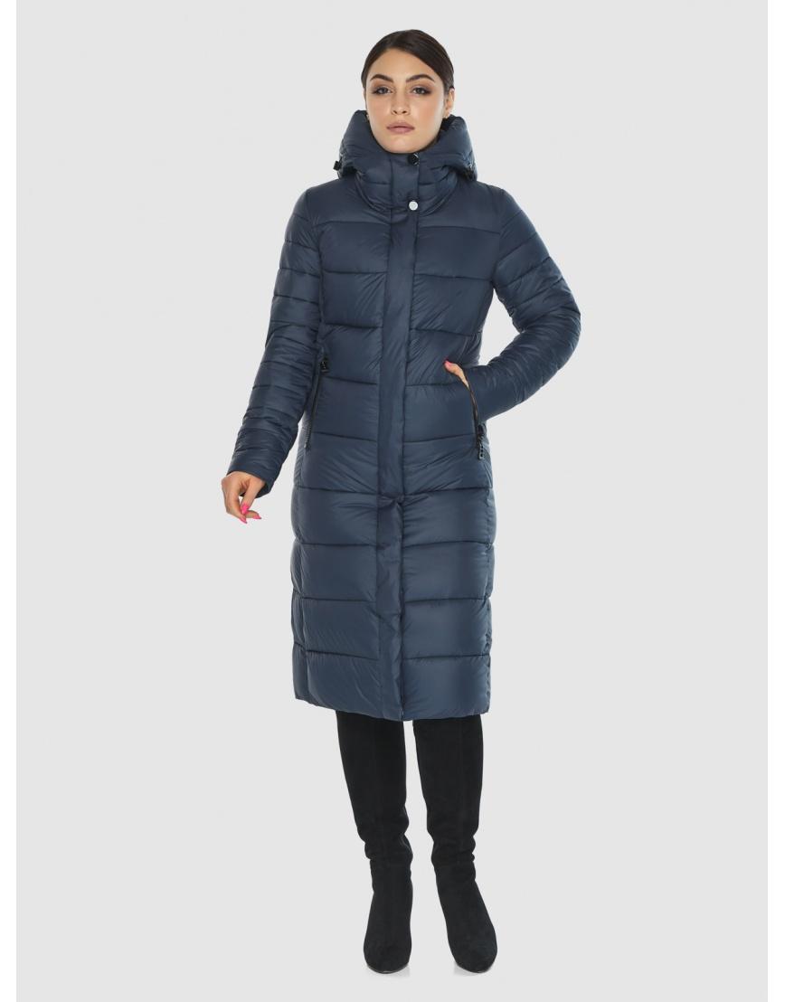 Женская комфортная куртка Wild Club цвет синий 538-74 фото 6