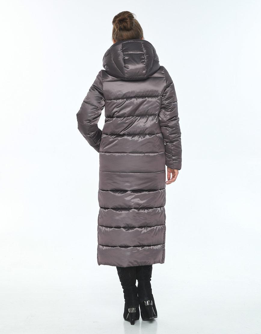 Длинная куртка женская Ajento капучиновая 21207 фото 3