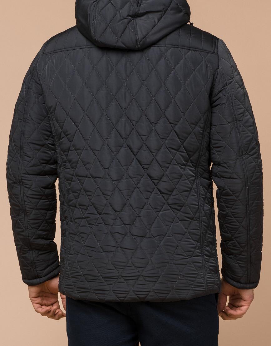 Графитовая мужская куртка зимняя модель 24534 оптом фото 3
