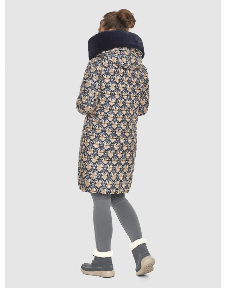 Стёганая куртка с рисунком подростковая Ajento для зимы 24138 фото 4