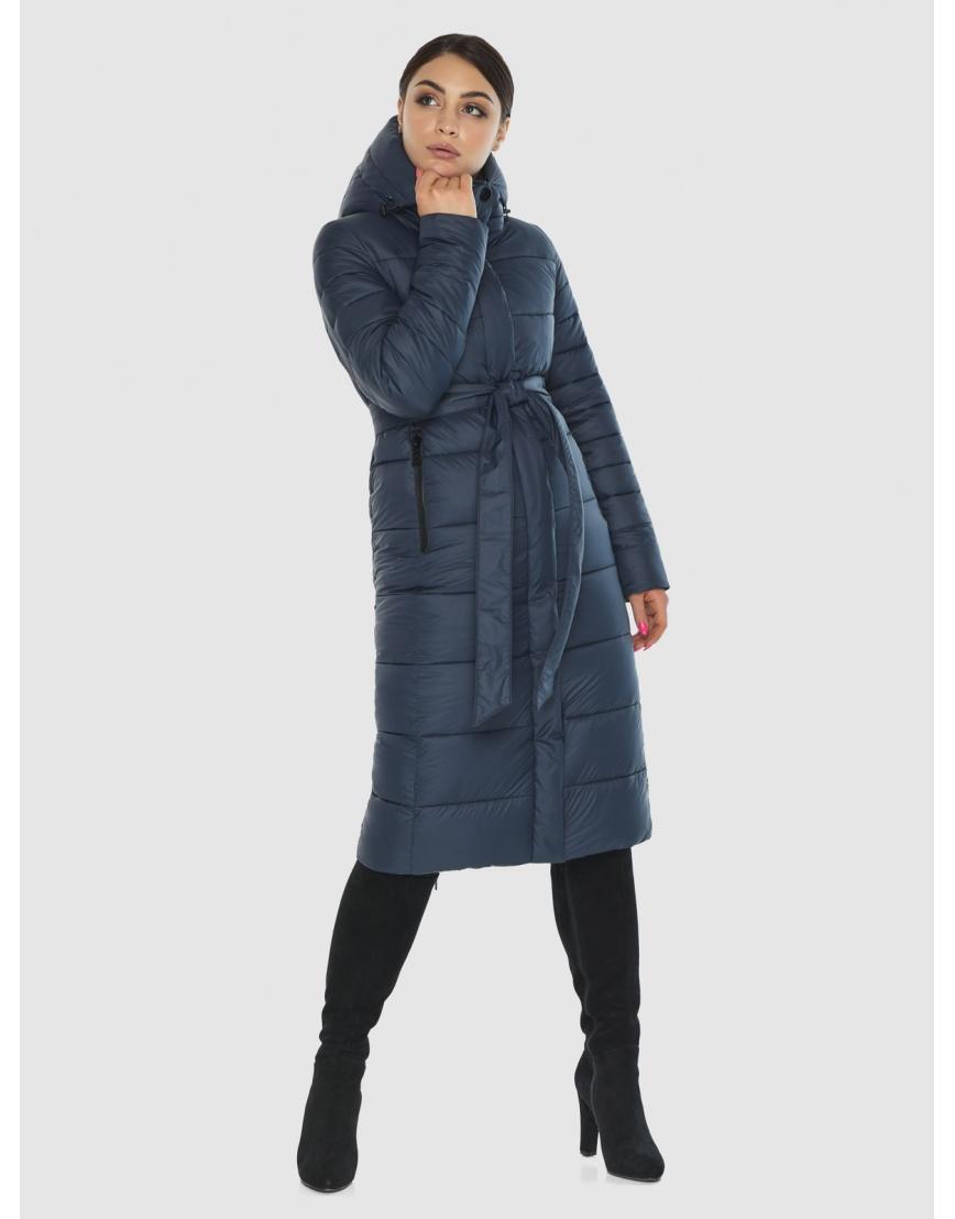 Женская комфортная куртка Wild Club цвет синий 538-74 фото 5