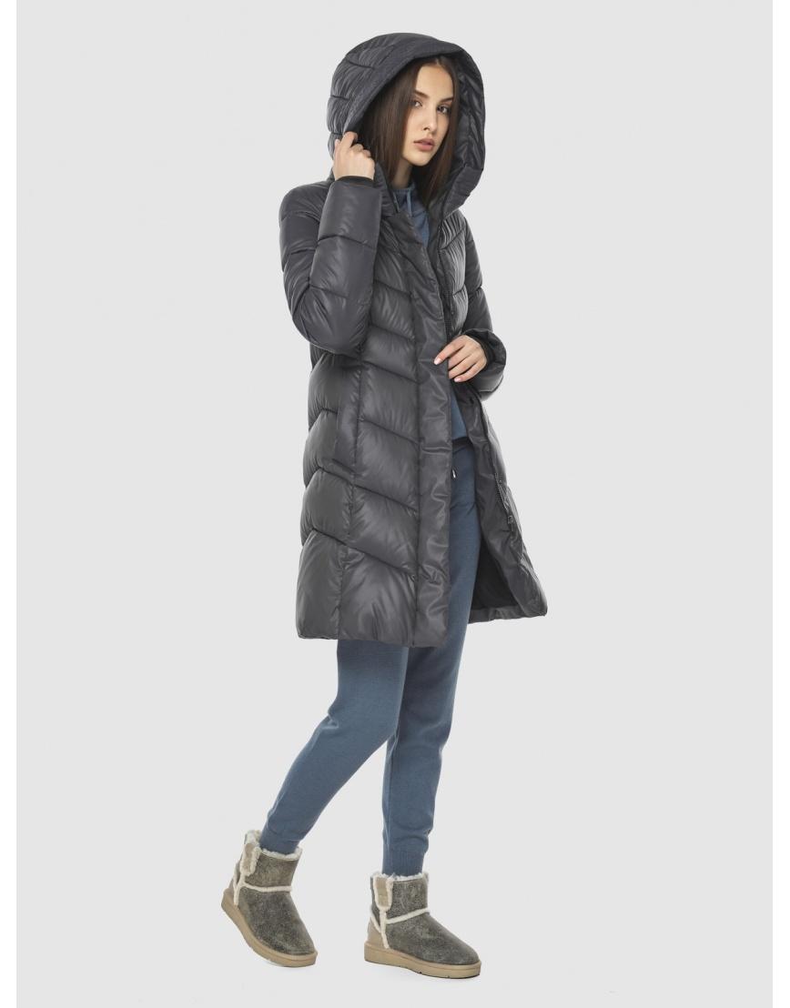 Фирменная куртка Vivacana серая женская 7821/21 фото 3
