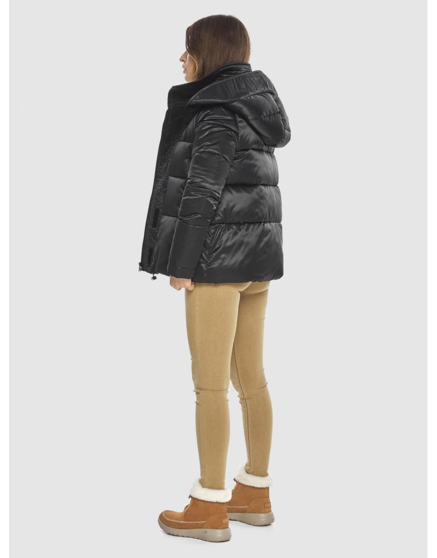 Чёрная куртка практичная женская Ajento 23952 фото 4