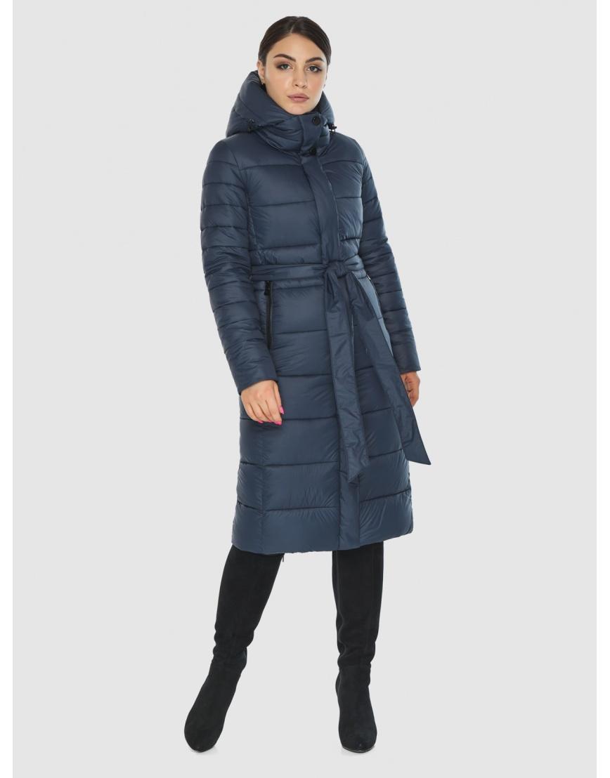 Женская комфортная куртка Wild Club цвет синий 538-74 фото 1
