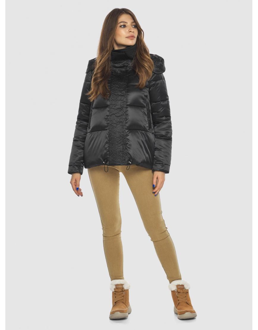Чёрная куртка практичная женская Ajento 23952 фото 1
