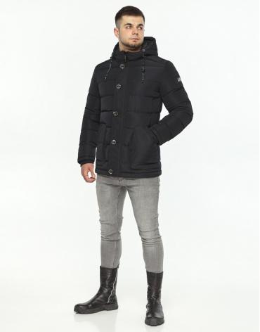 Куртка черная зимняя модель 44516 фото 1
