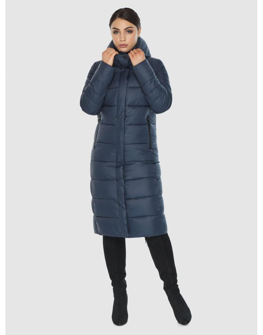 Женская комфортная куртка Wild Club цвет синий 538-74 фото 3
