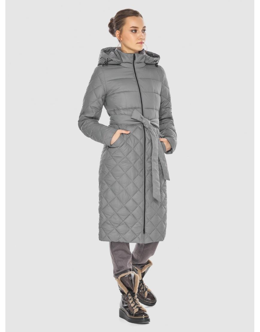 Элегантная женская куртка серая Wild Club 567-80 фото 1