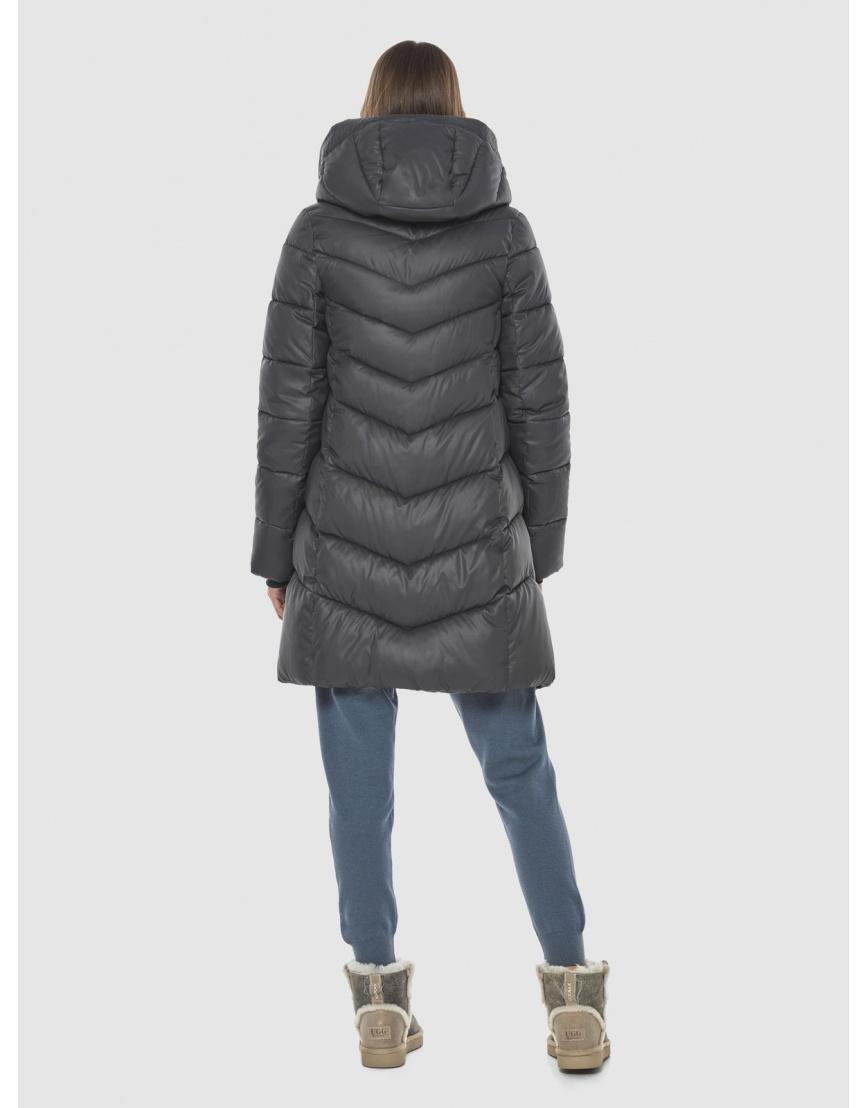 Фирменная куртка Vivacana серая женская 7821/21 фото 4