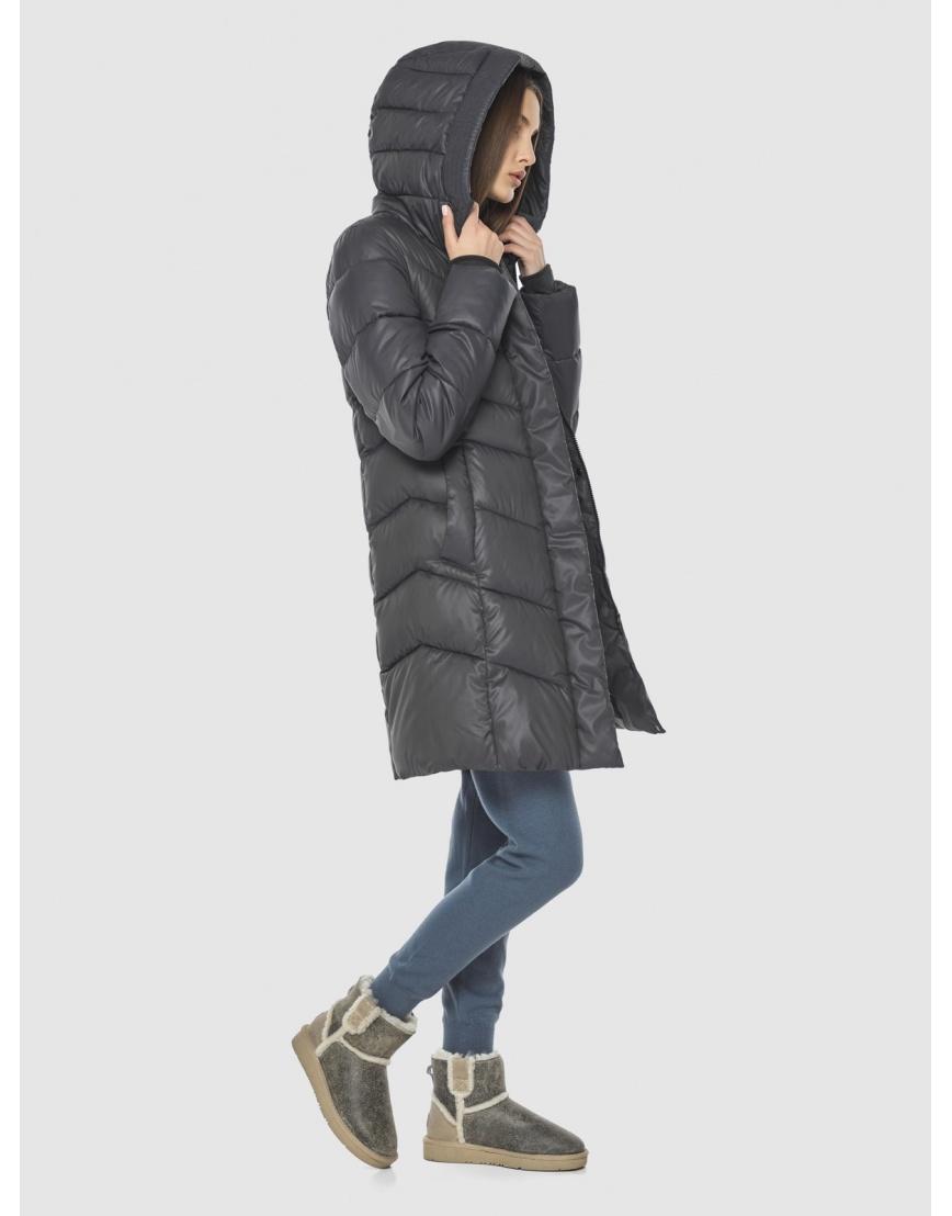 Фирменная куртка Vivacana серая женская 7821/21 фото 2