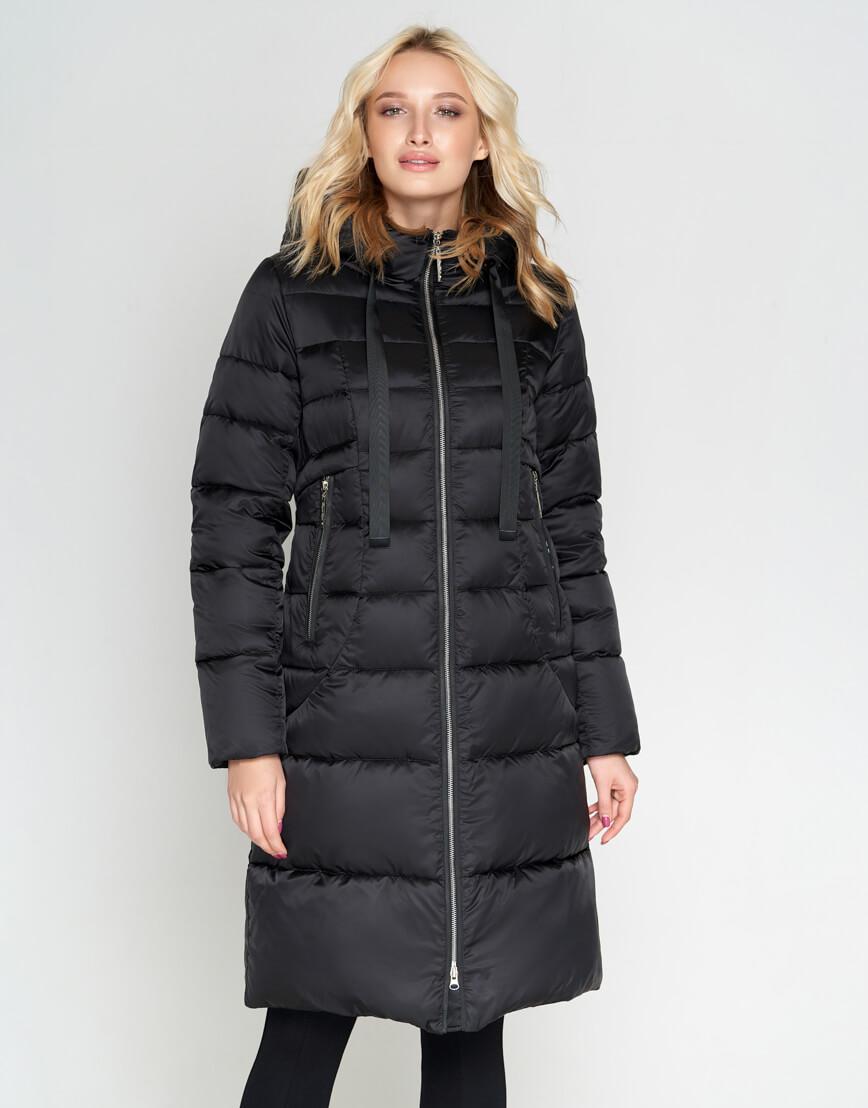 Черный зимний женский воздуховик Braggart модный модель 47250 фото 3