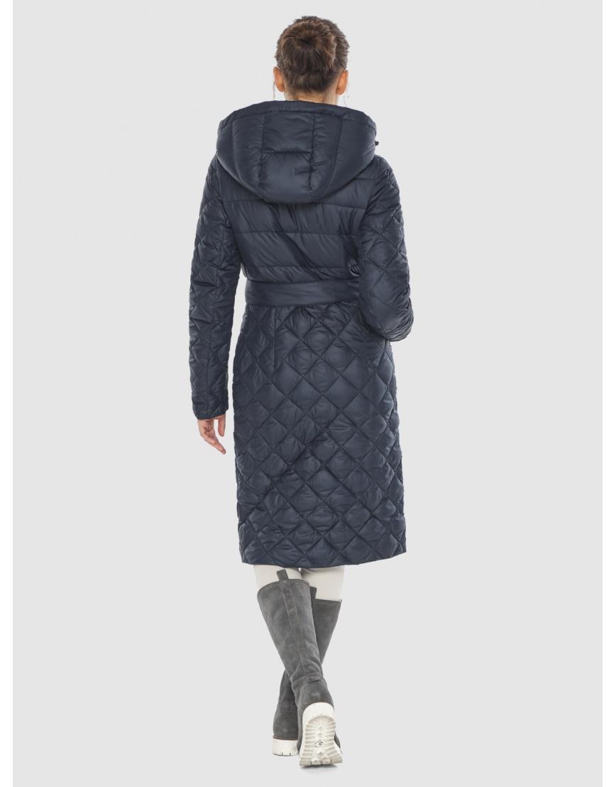Синяя стильная женская куртка Wild Club 567-80 фото 4