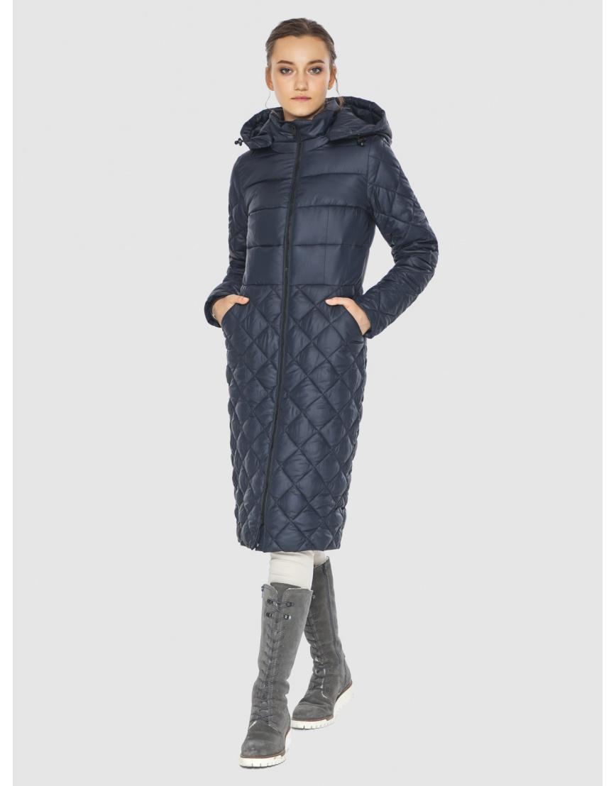 Синяя стильная женская куртка Wild Club 567-80 фото 5
