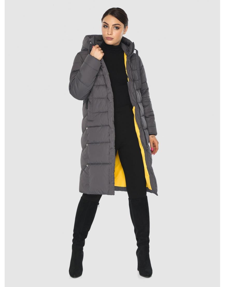 Серая практичная женская куртка Wild Club 541-94 фото 6