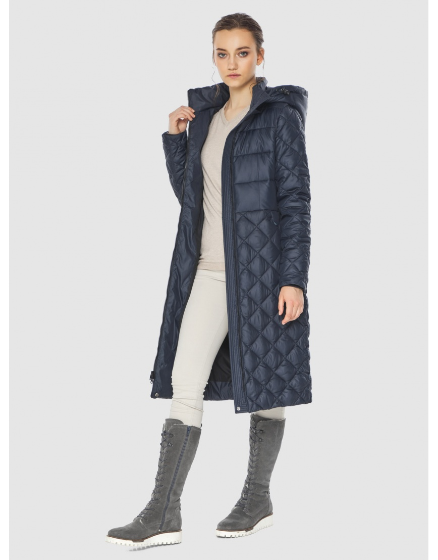 Синяя стильная женская куртка Wild Club 567-80 фото 6