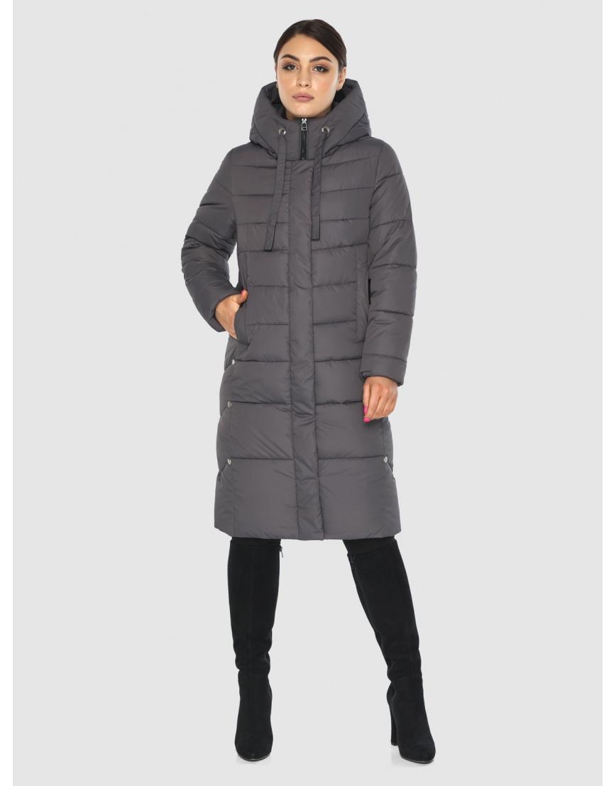 Серая практичная женская куртка Wild Club 541-94 фото 5