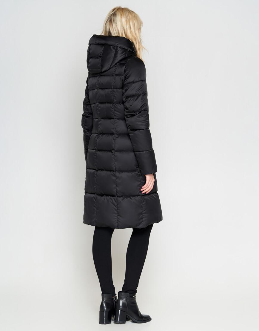 Черный зимний женский воздуховик Braggart модный модель 47250 фото 4