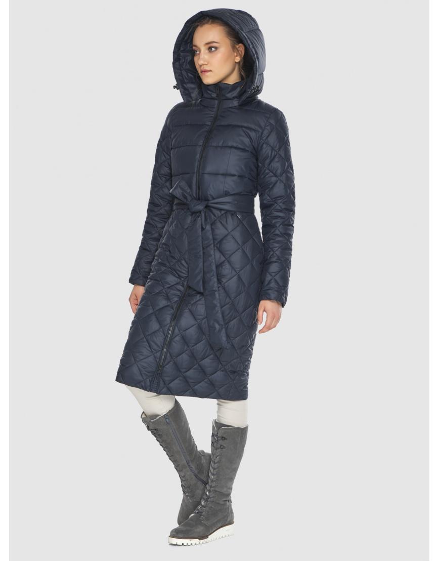 Синяя стильная женская куртка Wild Club 567-80 фото 2