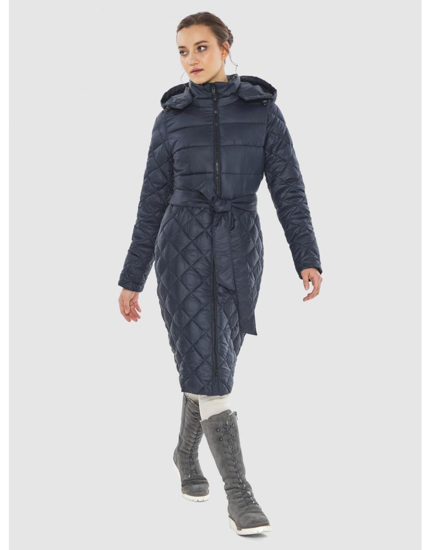 Синяя стильная женская куртка Wild Club 567-80 фото 1
