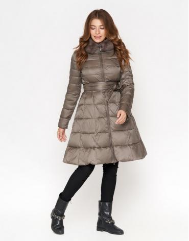 Куртка стильная женская цвет капучино модель 7319 фото 1
