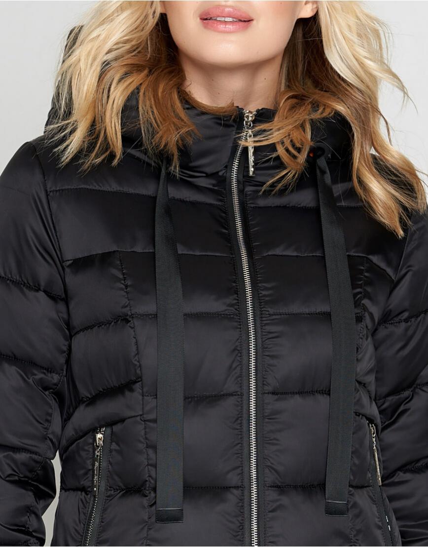 Черный зимний женский воздуховик Braggart модный модель 47250 фото 5