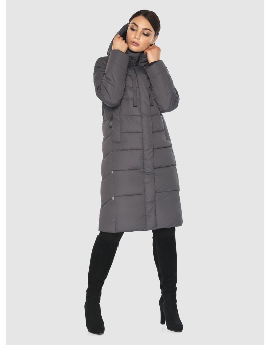 Серая практичная женская куртка Wild Club 541-94 фото 3