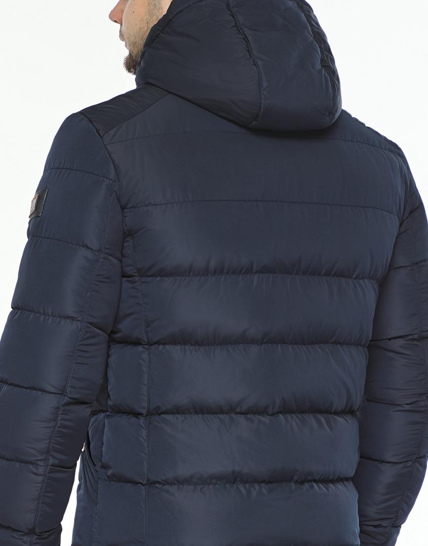 Темно-синяя куртка удобного фасона модель 44516 фото 6