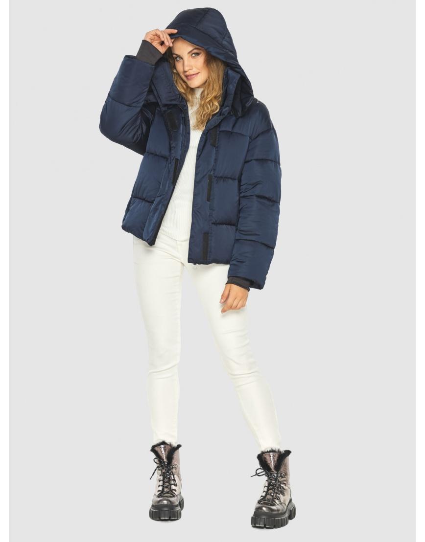 Куртка удобная Kiro Tokao зимняя синяя подростковая 60085 фото 5