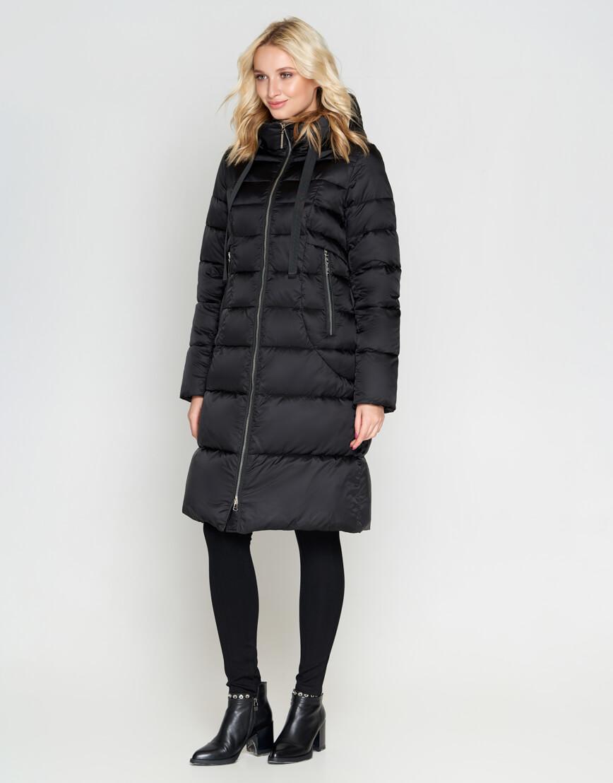 Черный зимний женский воздуховик Braggart модный модель 47250 фото 1