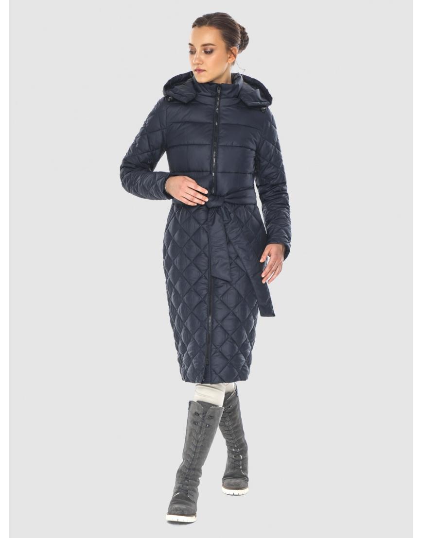 Синяя стильная женская куртка Wild Club 567-80 фото 3