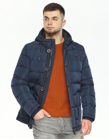 Синяя куртка на зиму модель 44516 фото 1