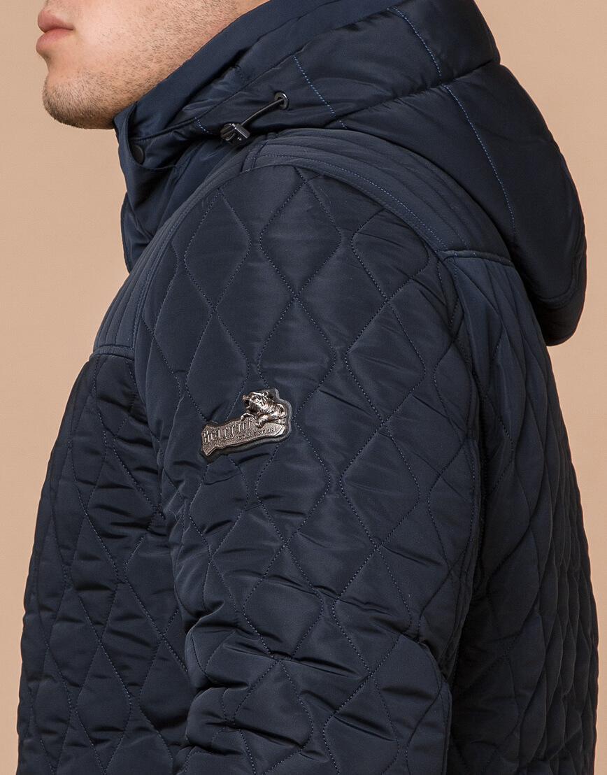 Куртка мужская зимняя синего цвета модель 24534 оптом фото 6