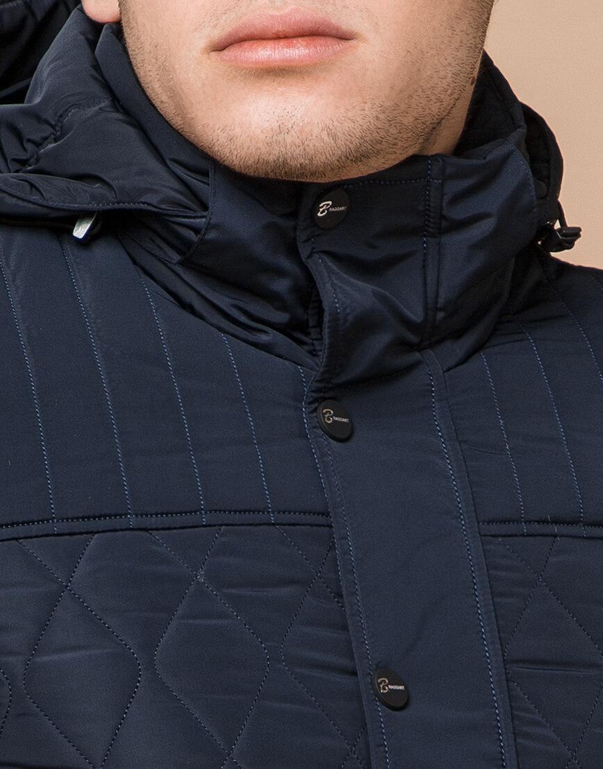 Куртка мужская зимняя синего цвета модель 24534 оптом фото 4