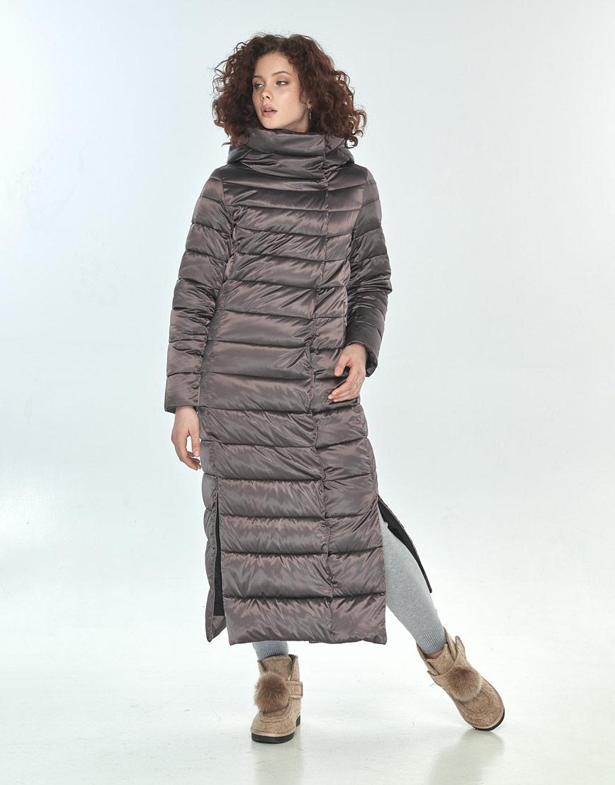Куртка Moc капучиновая женская на зиму M6210 фото 1