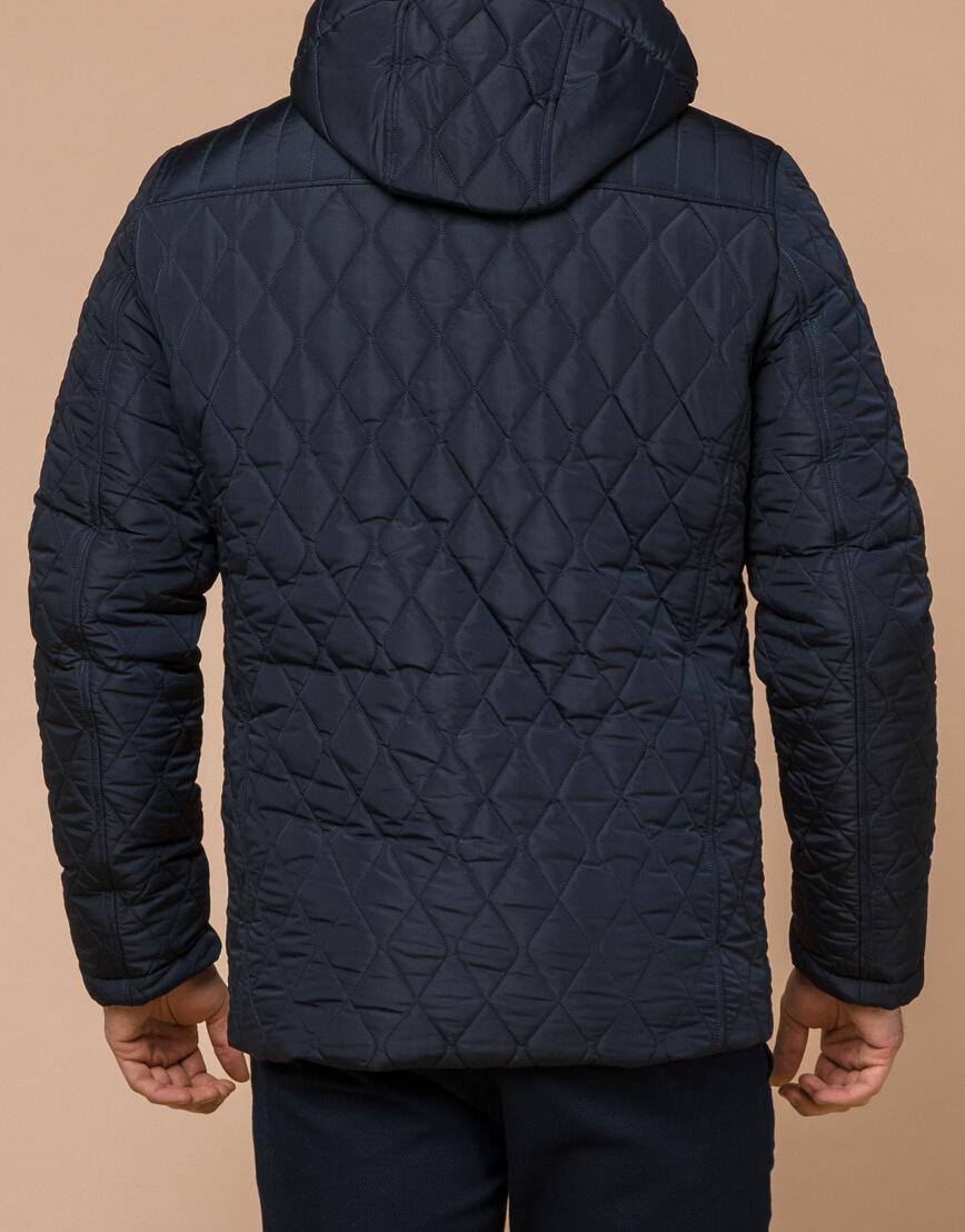 Куртка мужская зимняя синего цвета модель 24534 оптом фото 3