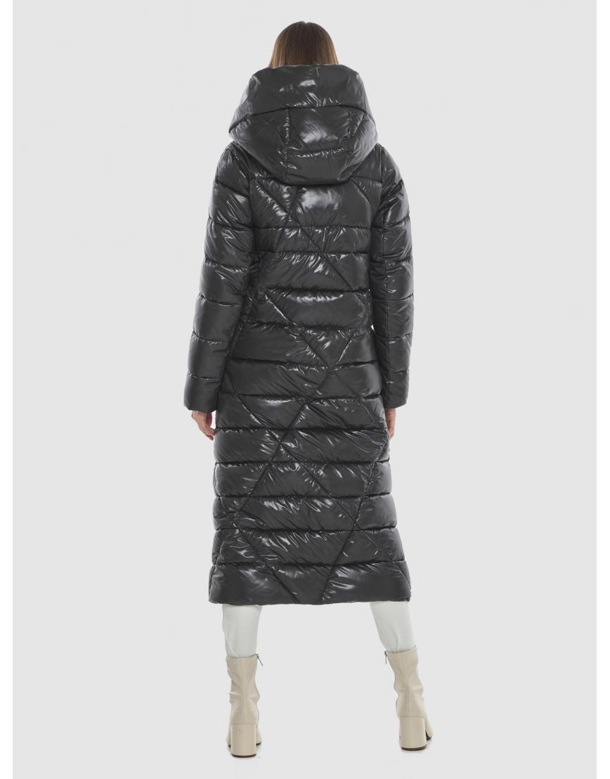 Трендовая женская куртка Vivacana серая 9470/21 фото 4