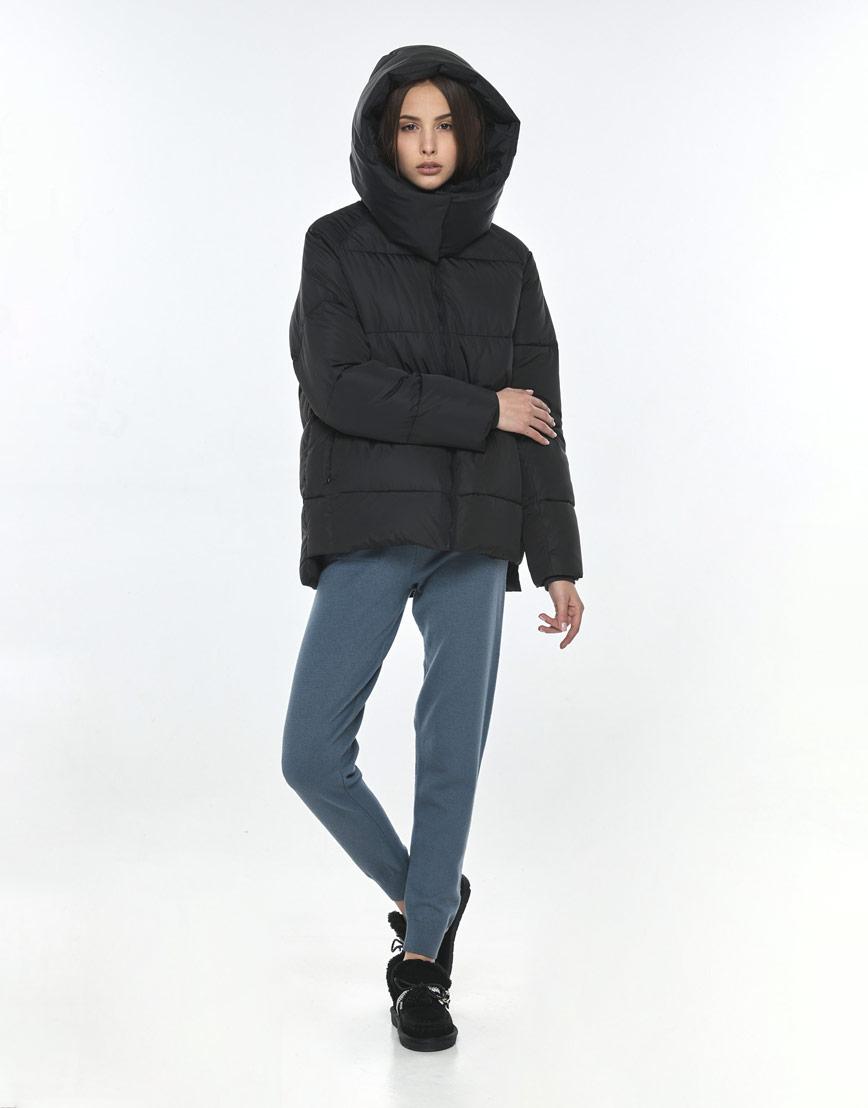 Фирменная чёрная куртка Vivacana женская 7354/21 фото 1