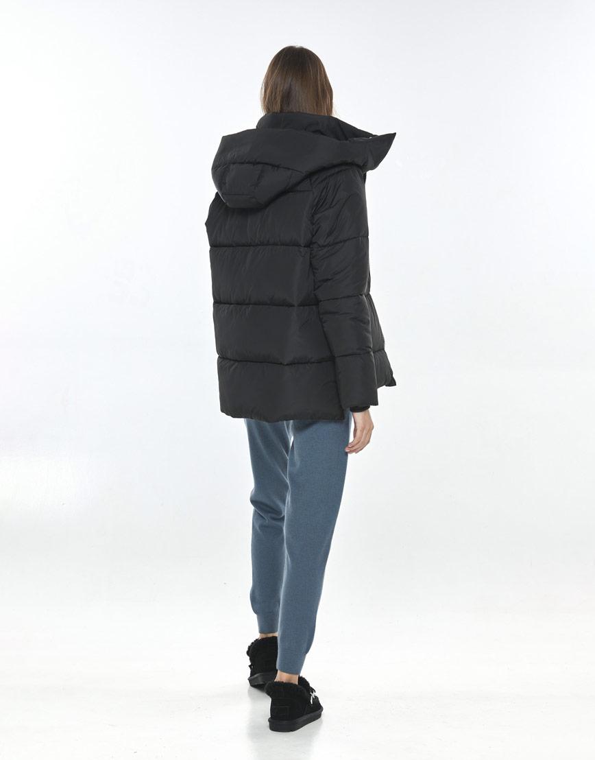 Фирменная чёрная куртка Vivacana женская 7354/21 фото 3