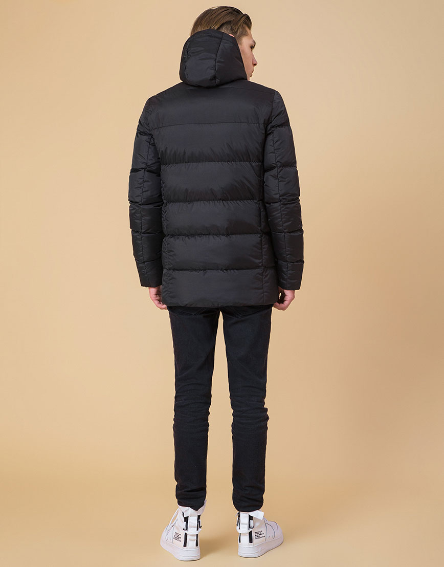 Куртка подростковая оригинальная цвет черный-электрик модель 71293
