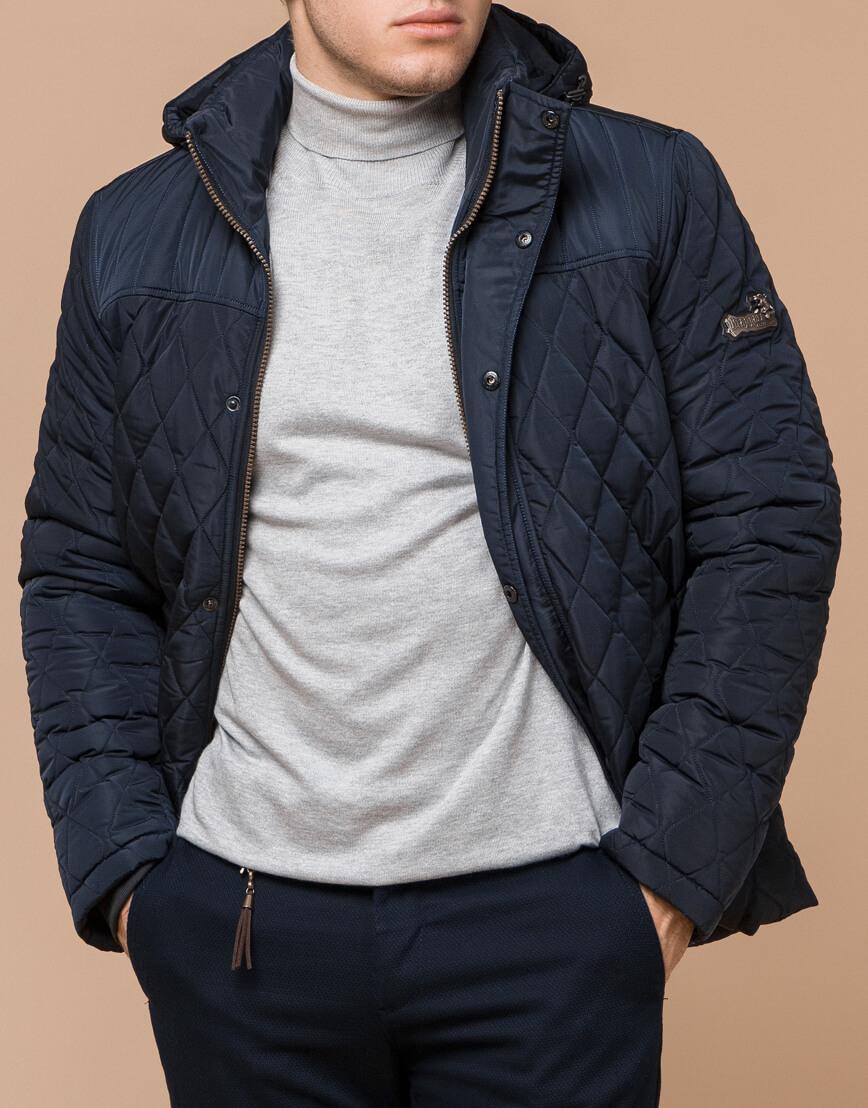 Куртка мужская зимняя синего цвета модель 24534 оптом фото 1