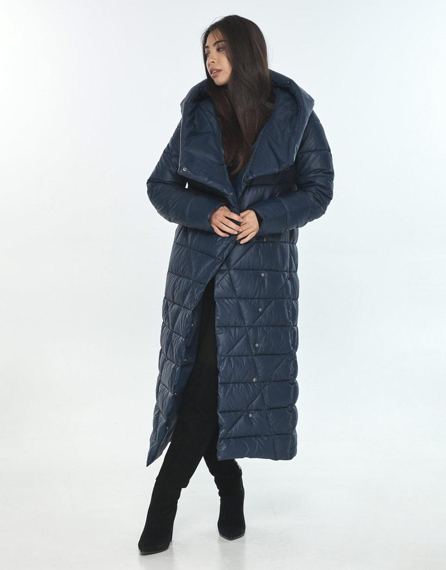 Практичная куртка женская синяя Moc на зиму M6715 фото 1