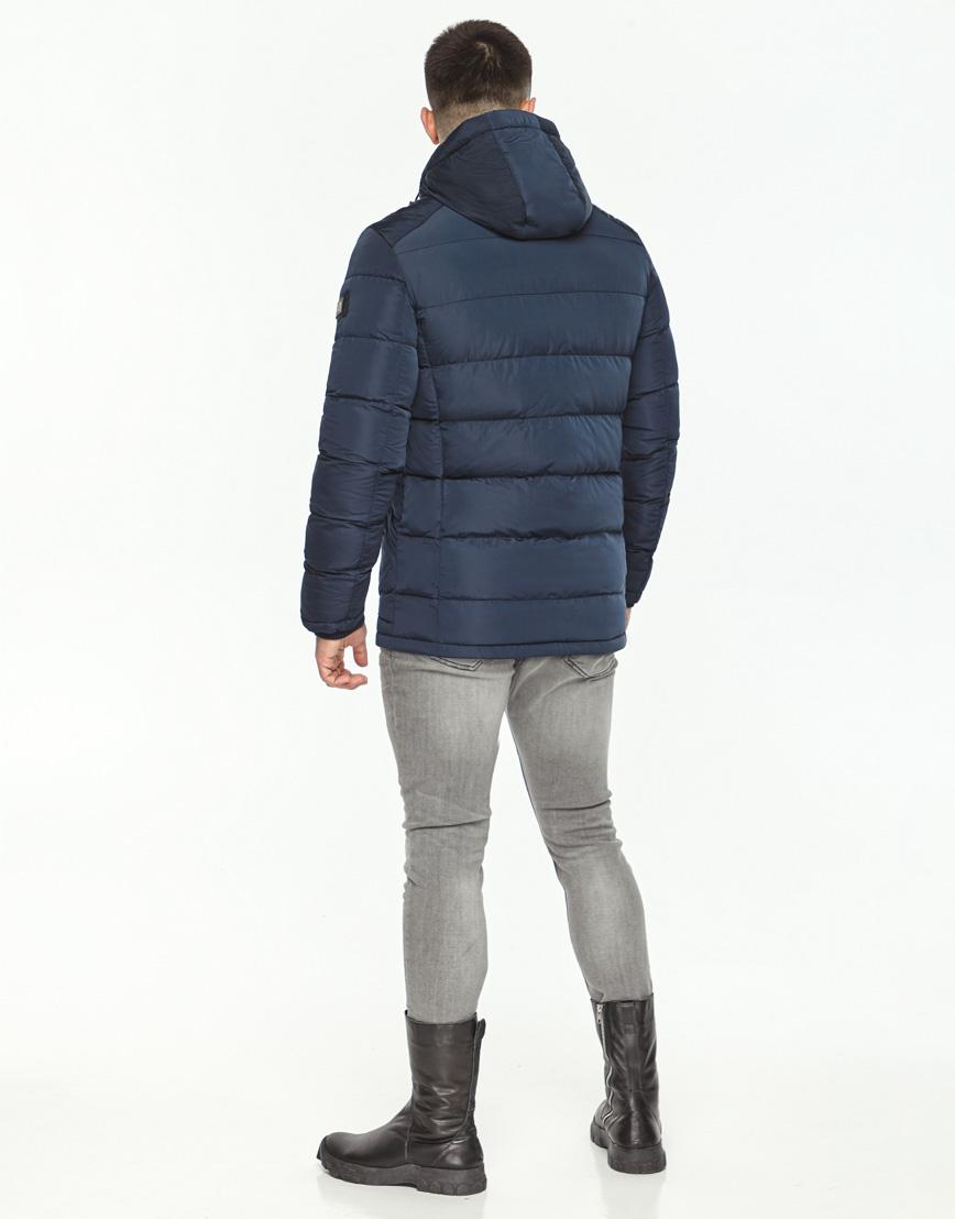 Синяя куртка на зиму модель 44516 фото 4