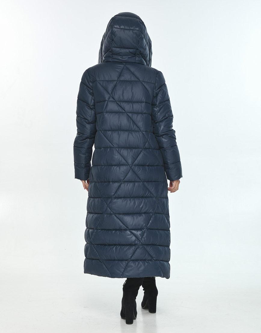Практичная куртка женская синяя Moc на зиму M6715 фото 3
