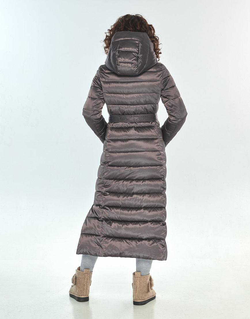 Комфортная куртка большого размера Moc женская цвет капучино M6210 фото 3