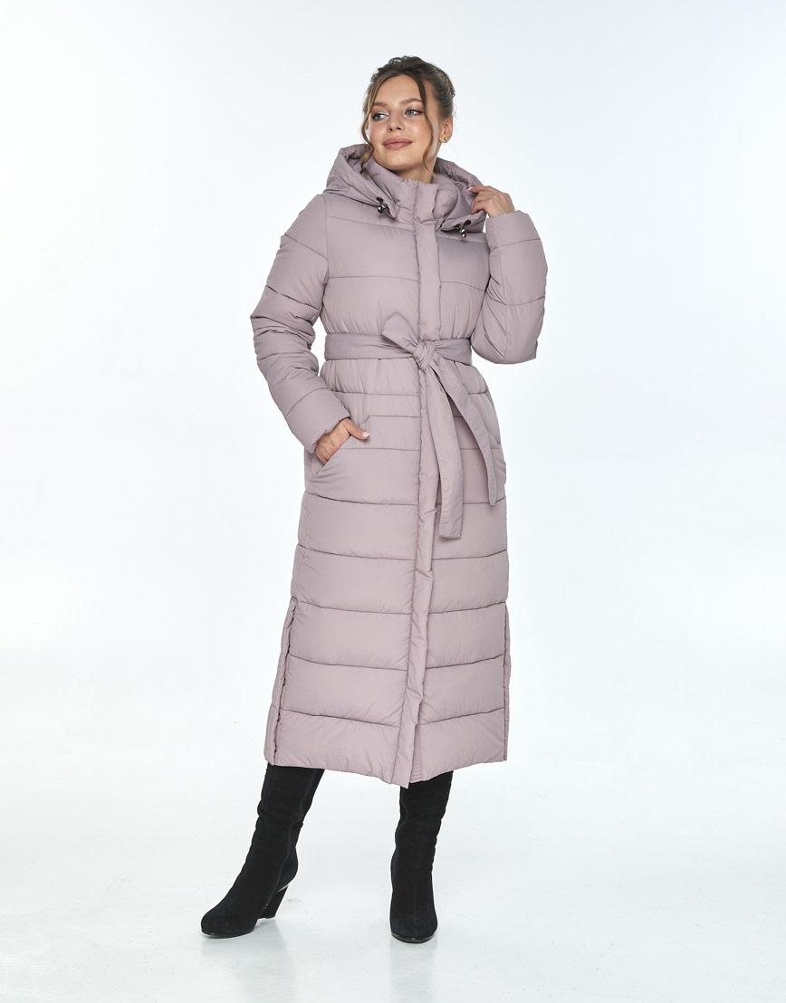 Пудровая куртка Ajento женская комфортная 21207 фото 2