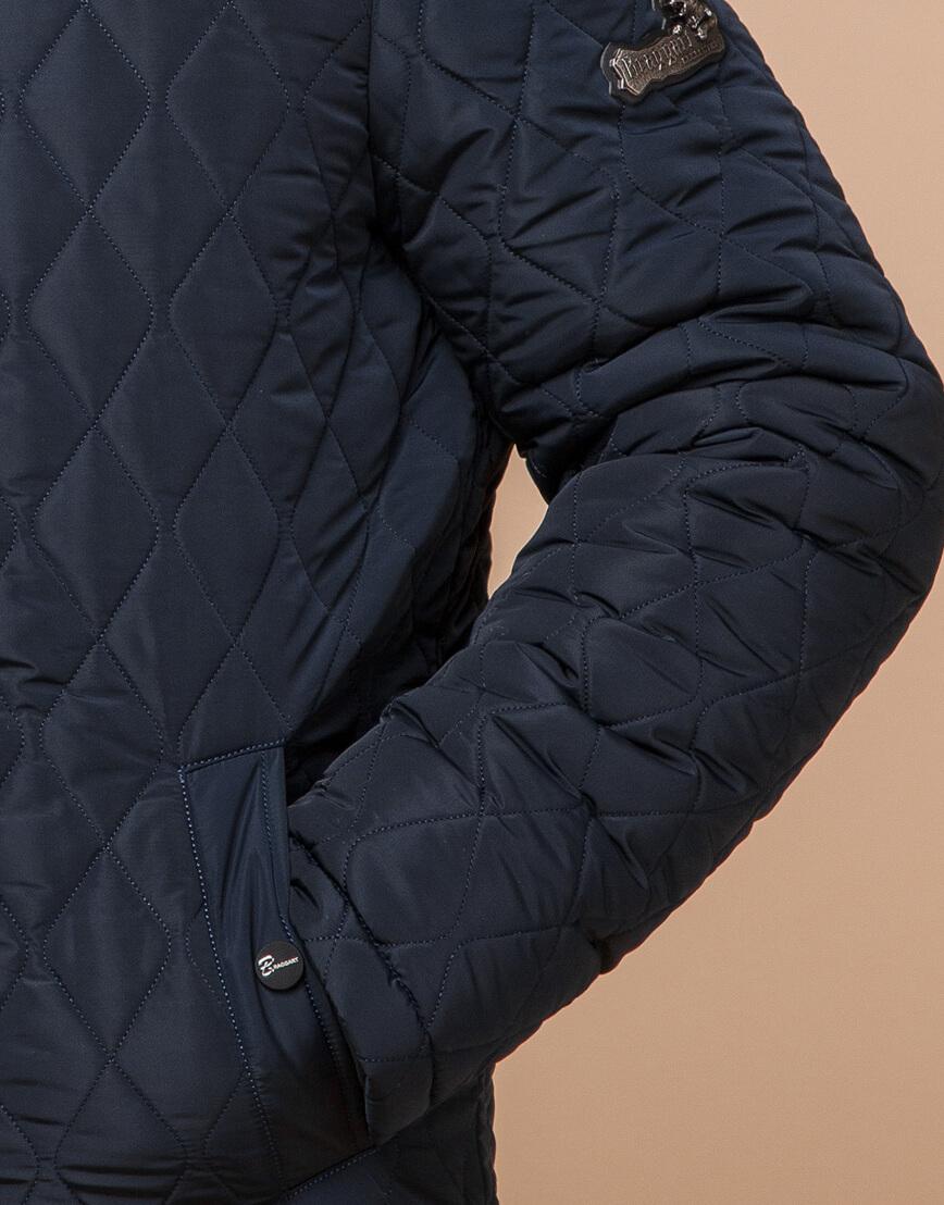 Куртка мужская зимняя синего цвета модель 24534 оптом фото 5
